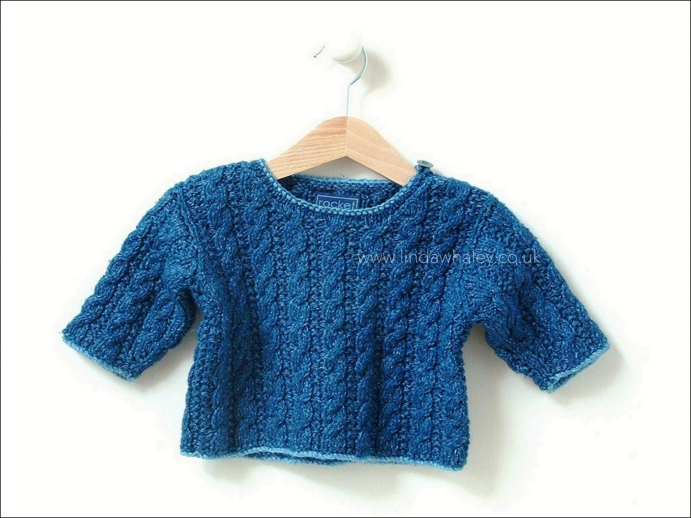 MINI CABLE SWEATER 8-12M/1-2Y