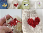 LEARN TO KNIT PICTURE KNITS