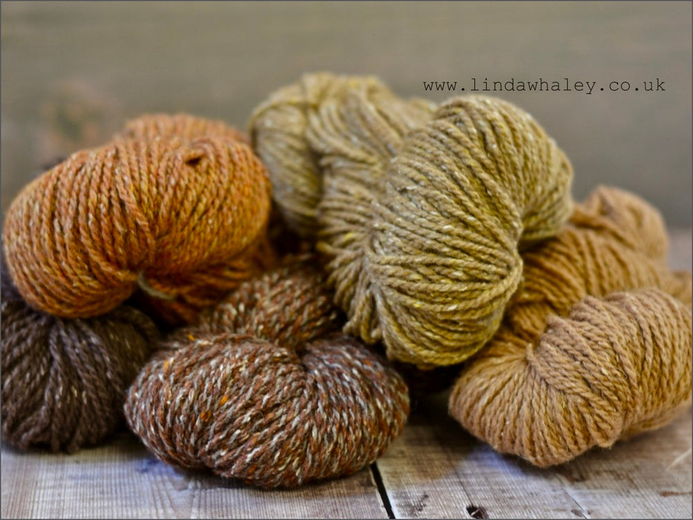WARM BROWNS 5 X HANKS BUNDLE