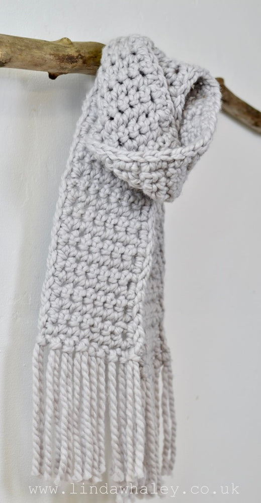 LUNA SIMPLE CROCHET ADULT SCARF