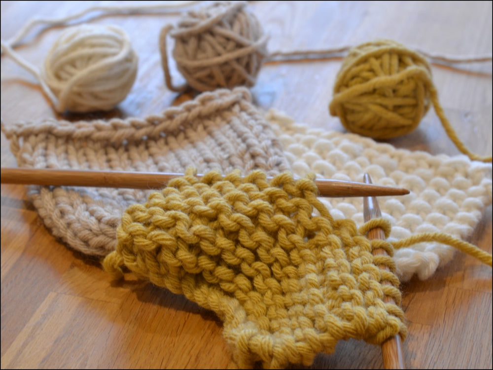 LEARN TO KNIT - FIRST STEPS