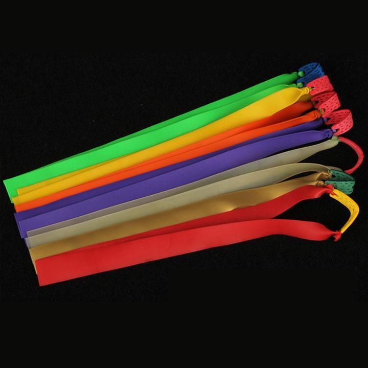 10 pcs   Slingshots Flat Rubber Band   0.75mm