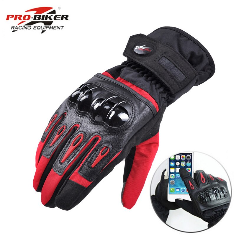 Pro-biker Winter Waterproof Motorcycle Gloves