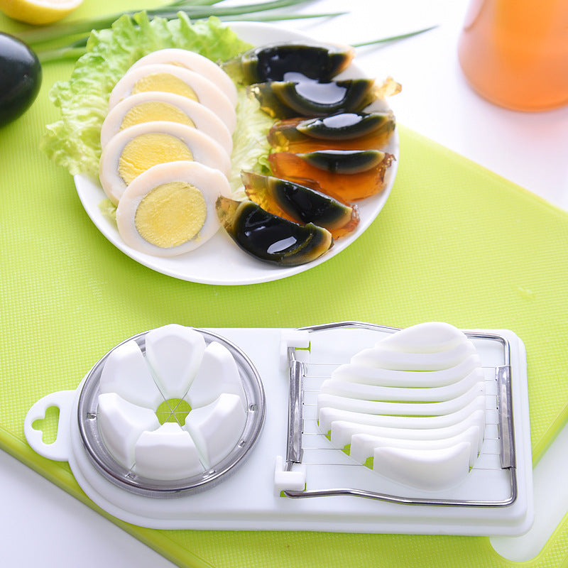 Functional Two-in-One Egg Slicer