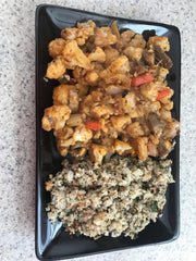 hash and couscous