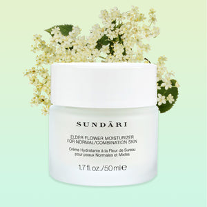 Elderflower Moisturizer - SUNDARI