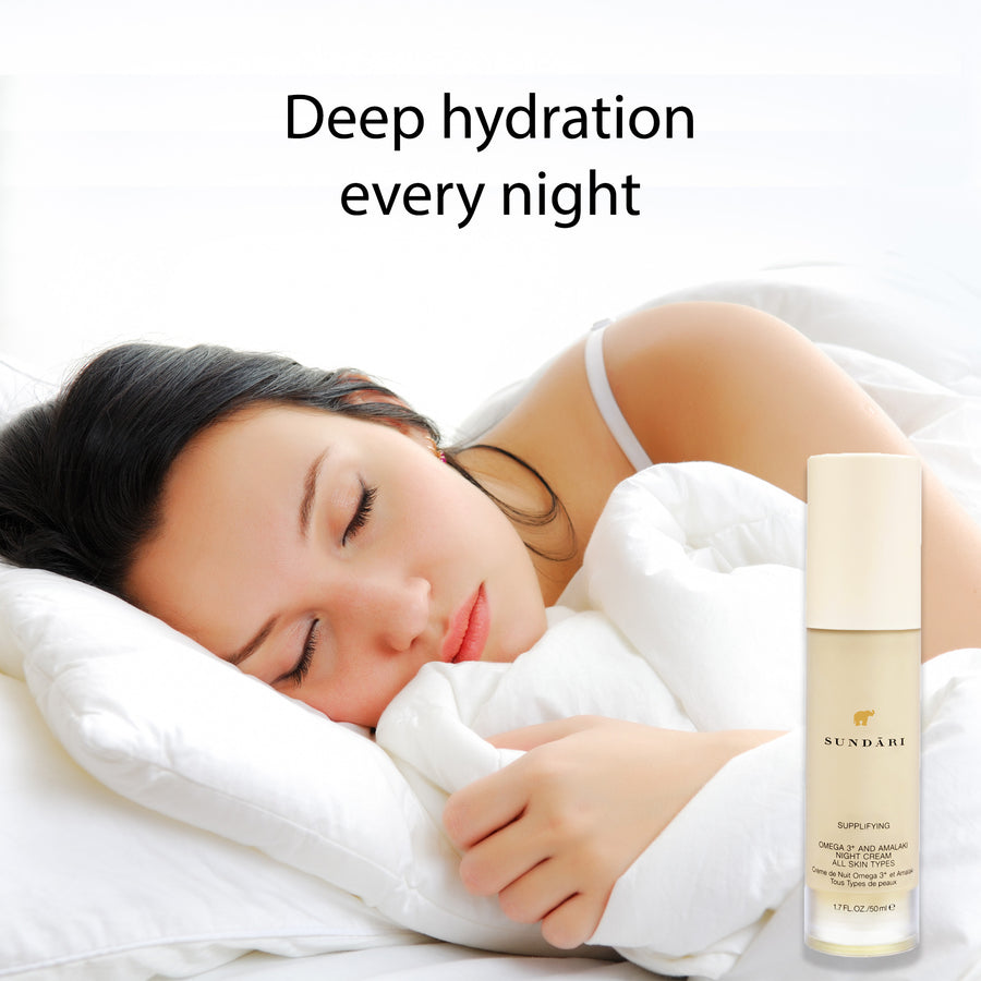 Omega 3+ and Amalaki Night Cream - SUNDÃRI