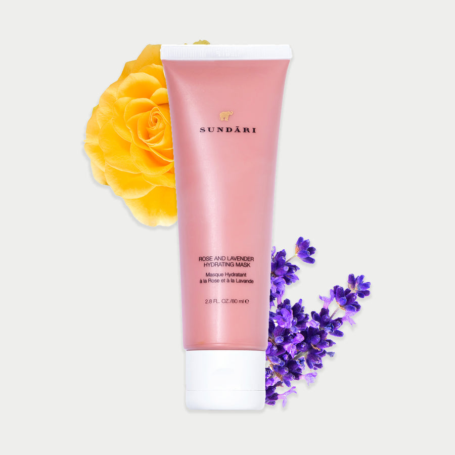 Rose and Lavender Hydrating Mask - SUNDARI