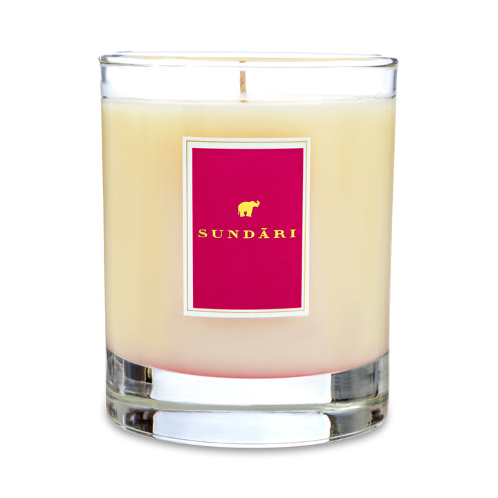 Candle Gulkand: Rose + Honey - SUNDÃRI