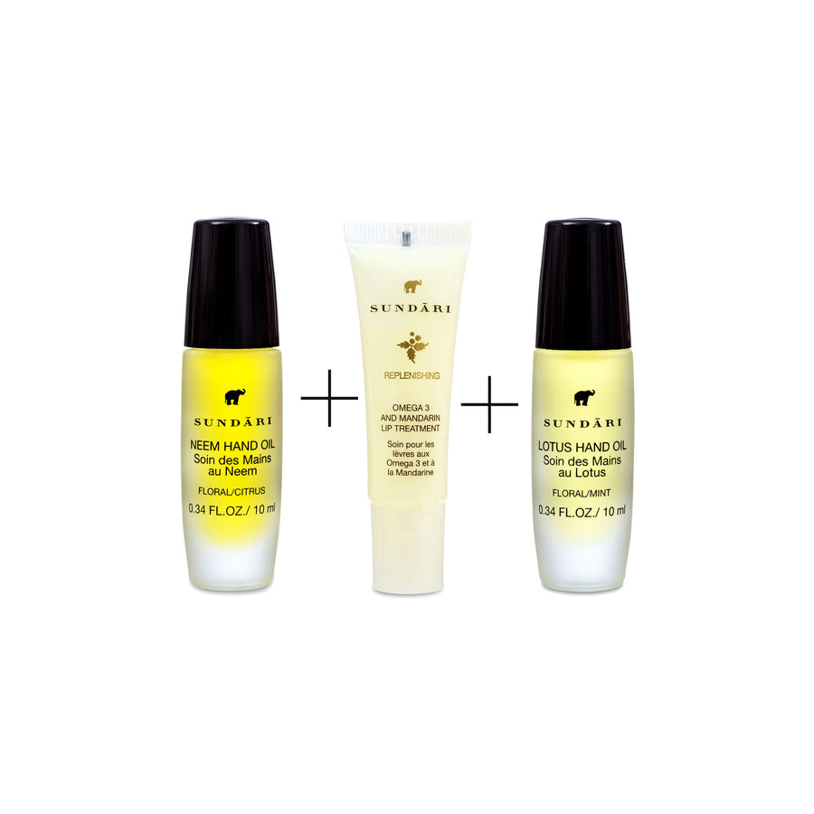 Hand and Lip Care Set - SUNDARI