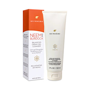 Neem and Burdock Balancing Cream-Gel Cleanser - SUNDÃRI