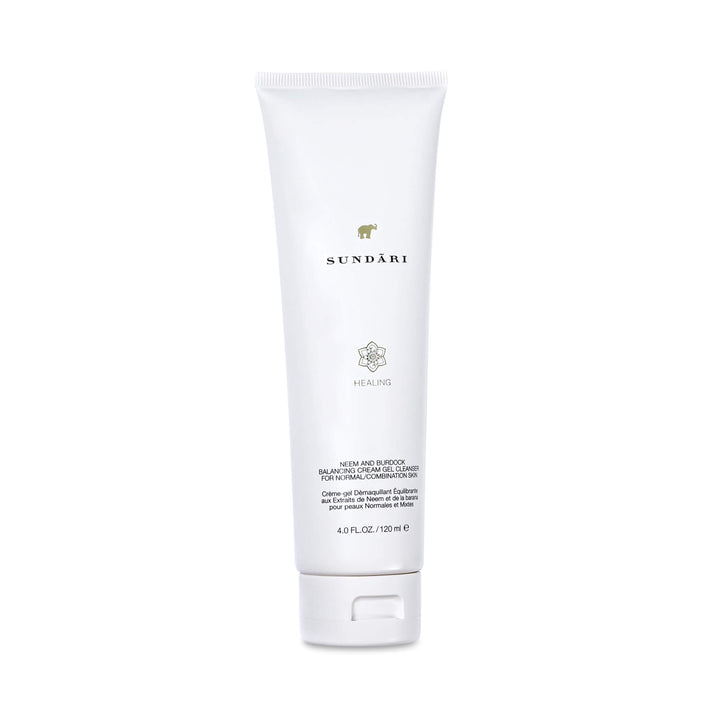 Neem and Burdock Balancing Cream-Gel Cleanser - SUNDARI