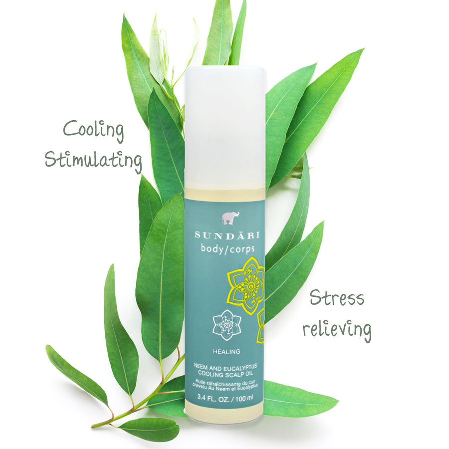 Neem and Eucalyptus Cooling Scalp Oil - SUNDÃRI
