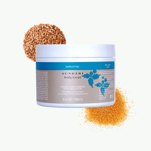Omega 3 and Flaxseed Body Exfoliator