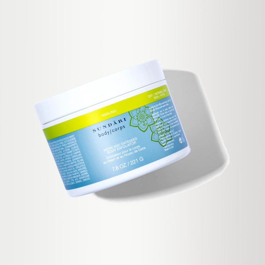 Neem and Dateseed Body Exfoliator