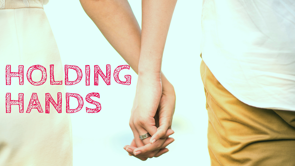 Holding hands - Cancer blog #2