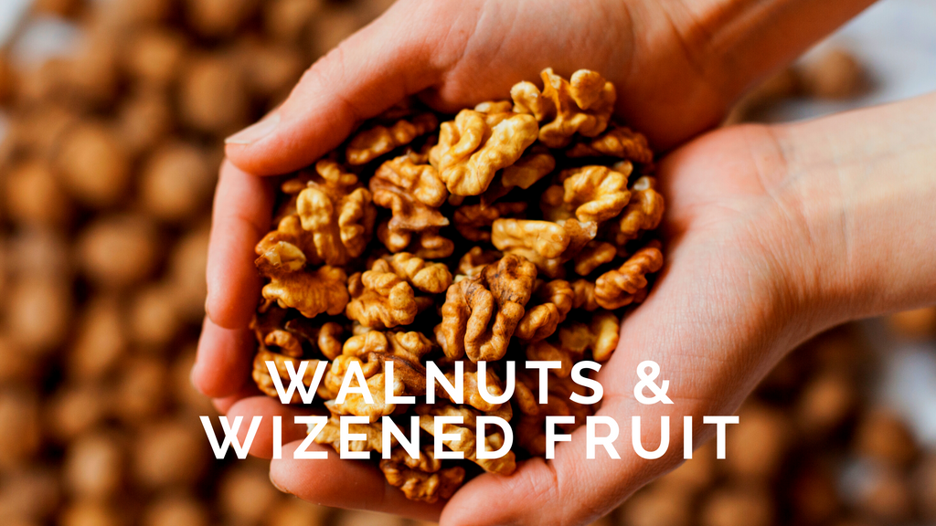 Walnuts and Wizened Fruit. Cancer blog #4