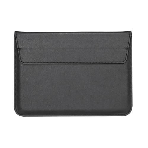 Black Leather Case For Macbook - iHub
