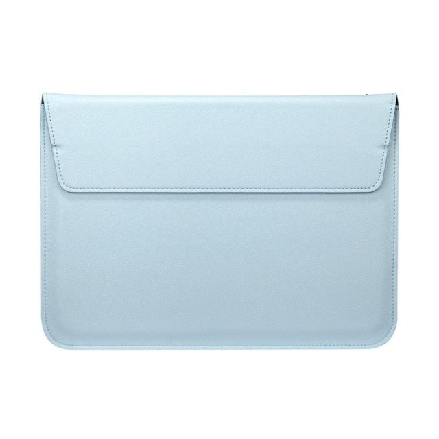 Blue Leather Case For Macbook - iHub