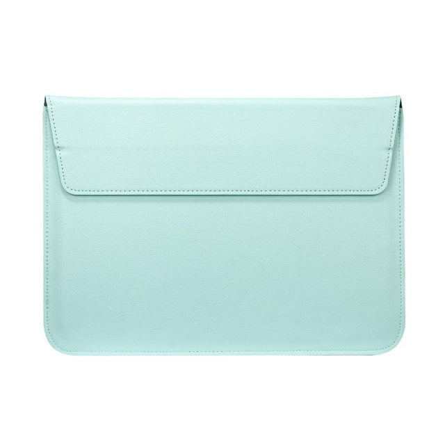 Mint Green Leather Case For Macbook - iHub