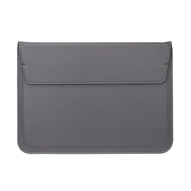Gray Leather Case For Macbook - iHub