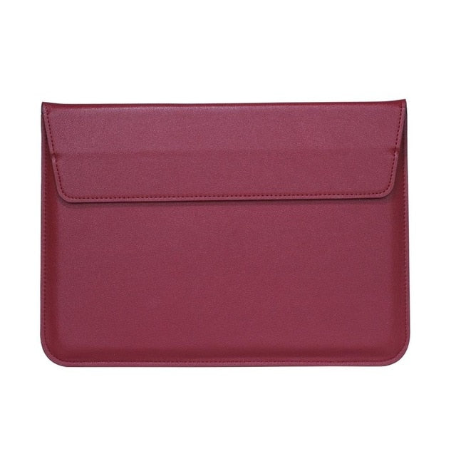 Red Leather Case For Macbook - iHub