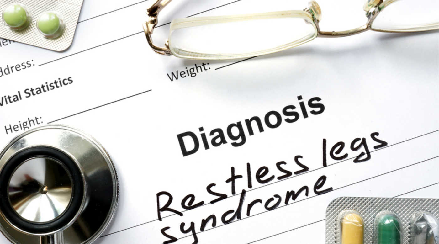 Medical record with diagnosis of Restless Legs Syndrome