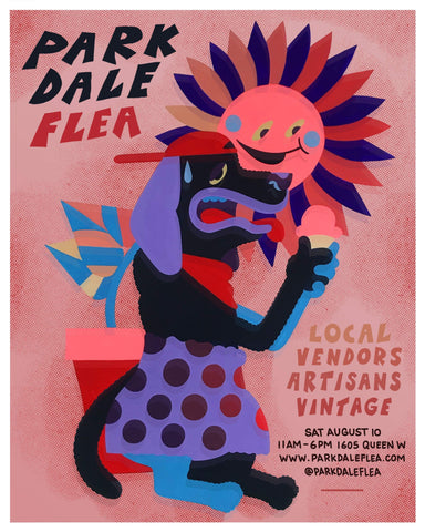 PARKDALE FLEA Saturday August 10th 2019