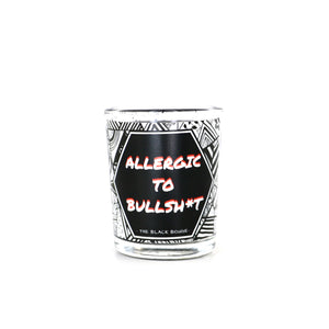 Allergic To B*llsh*t (White Label) - Mini Soy Candle - 2 OZ