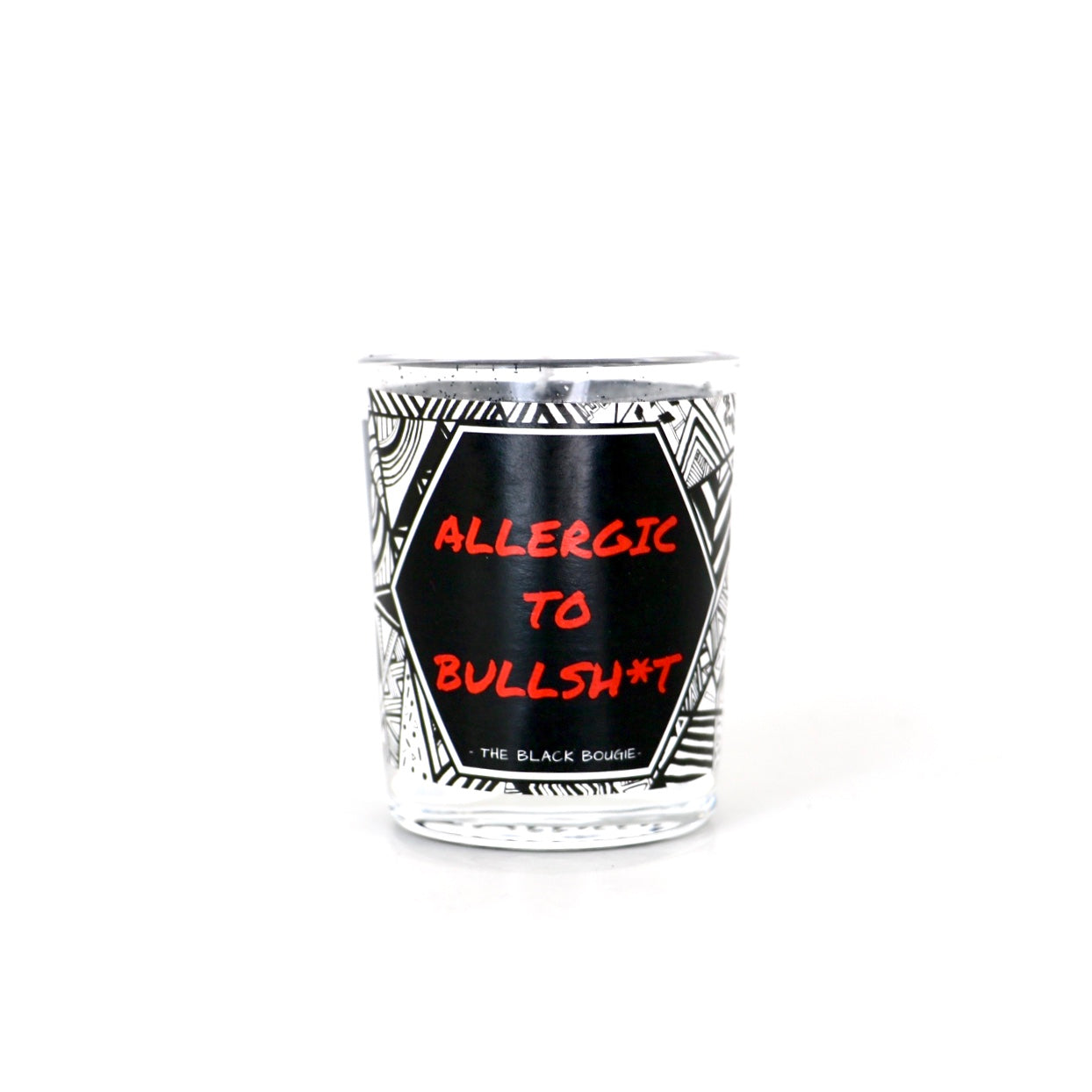 Allergic To B*llsh*t (Red Label) - Mini Soy Candle - 2 OZ