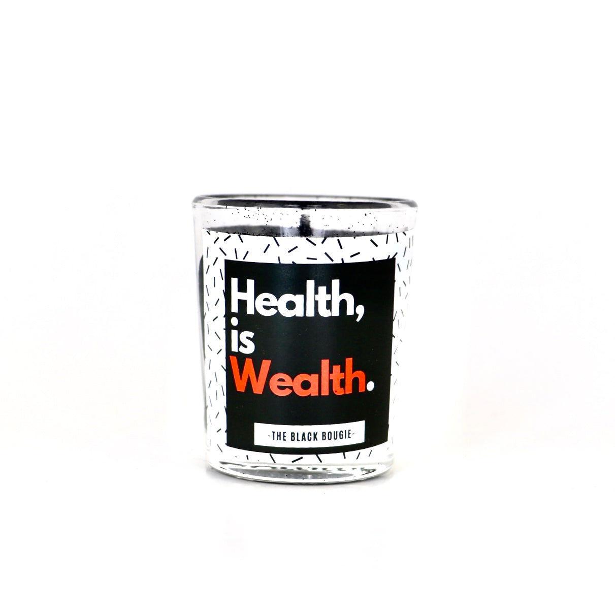 Health Is Wealth  - Mini Soy Candle - 2 OZ