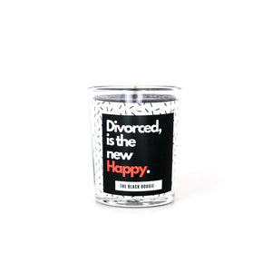 Divorce Is The New Happy - Mini Soy Candle - 2 OZ