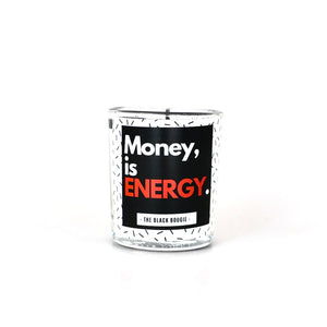 Money Is Energy - Mini Soy Candle - 2 oz