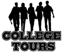 Load image into Gallery viewer, April 8th-11th College Tour 2021