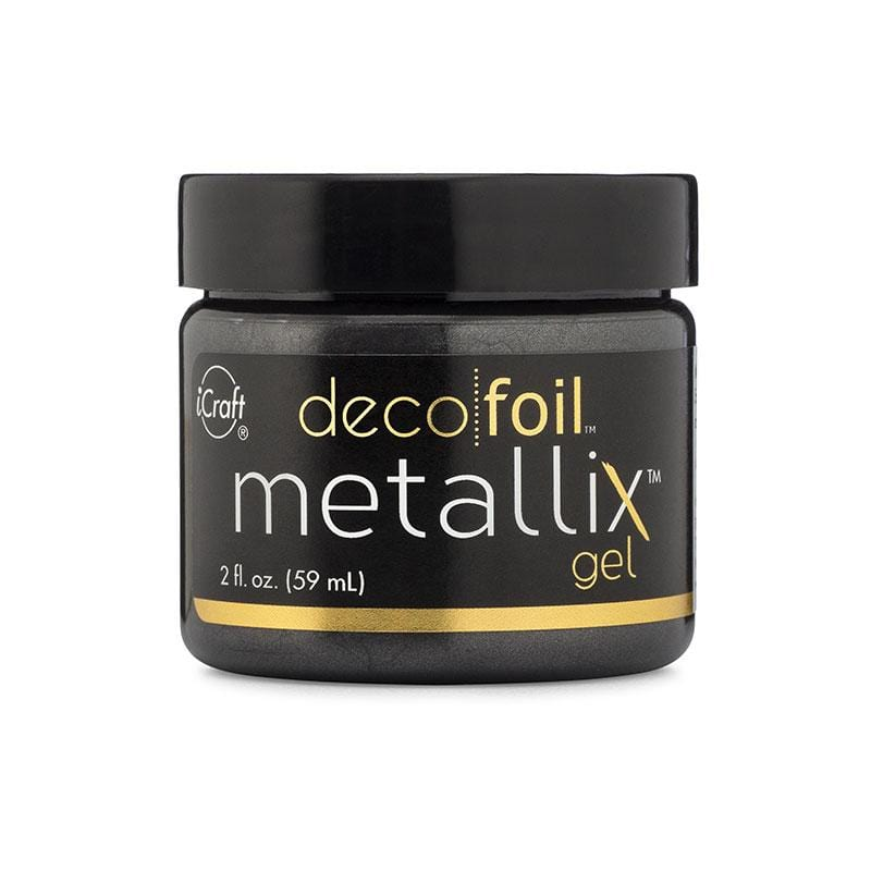 Therm O Web Deco Foil Metallix Gel, 2 fl oz, Black Ice 5546