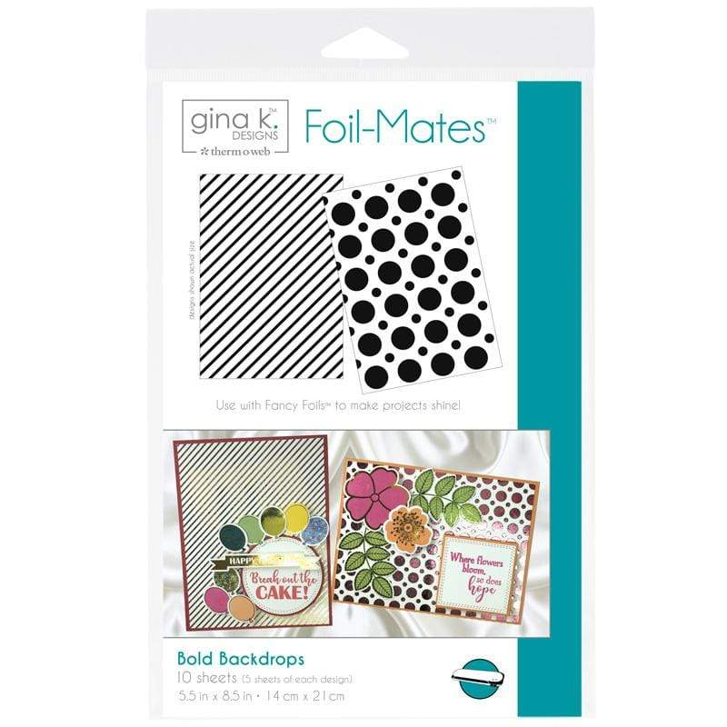Therm O Web Gina K. Designs Foil-Mates Backgrounds, Bold Backdrops 18072