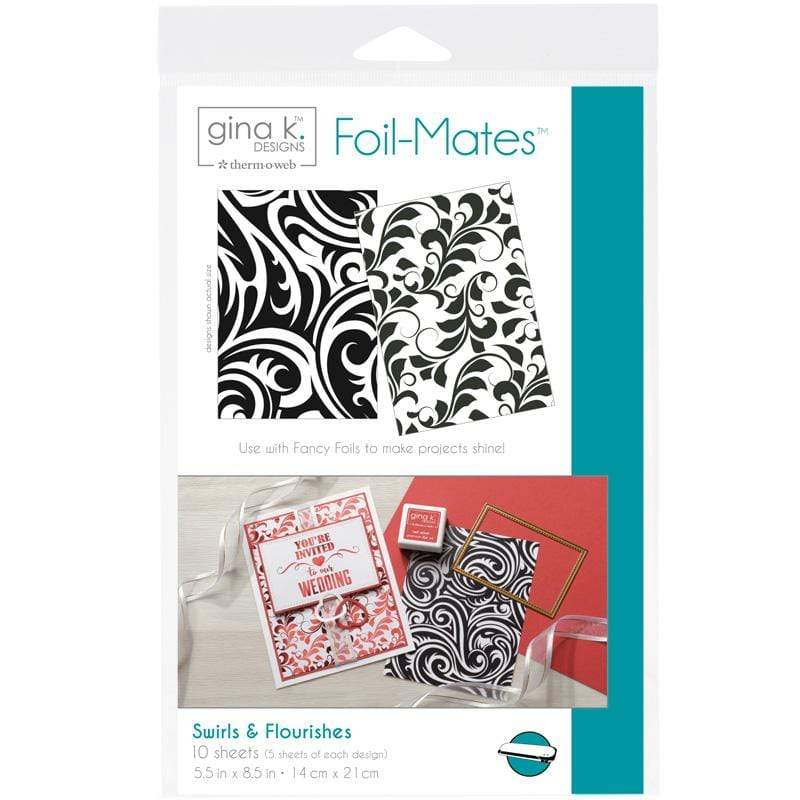 Therm O Web Gina K. Designs Foil-Mates Backgrounds, Swirls and Flourishes 18020