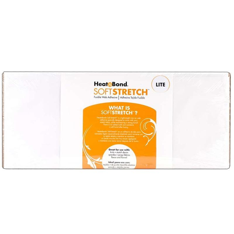 Therm O Web Heatnbond Soft Stretch Lite Iron-on Adhesive Bolt, 17 in x 20 yds 3538