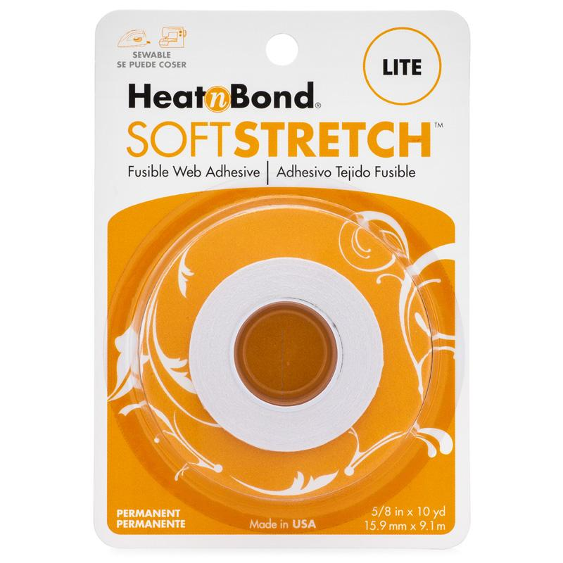Therm O Web HeatnBond Soft Stretch Lite Iron-On Adhesive Tape, 5/8 in x 10 yds 3536