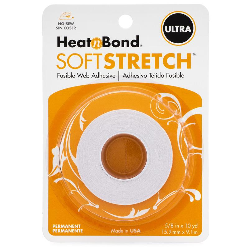 Therm O Web HeatnBond Soft Stretch Ultra Iron-On Adhesive Tape, 5/8 in x 10yds 3540