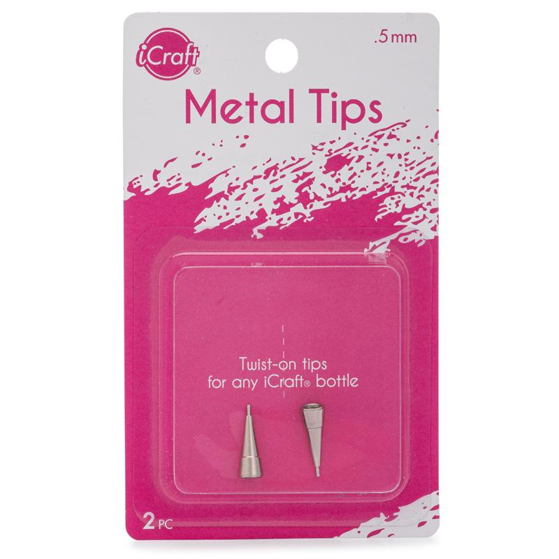 Therm O Web iCraft Metal Tips for iCraft Adhesive bottles (2pk) 5552