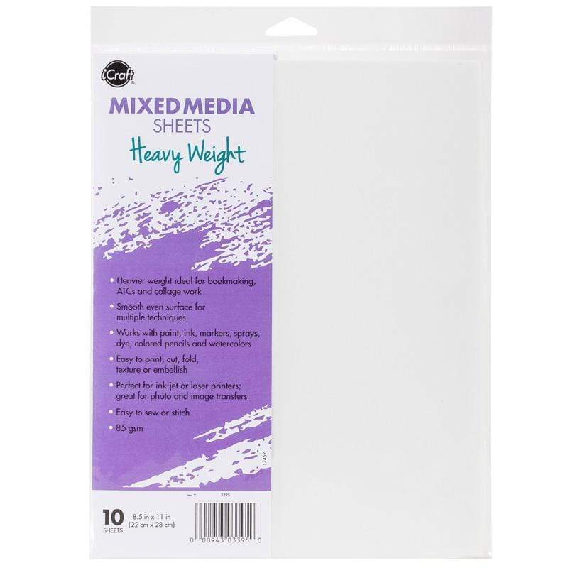 Therm O Web iCraft Mixed Media Sheets, Heavy Weight 3395