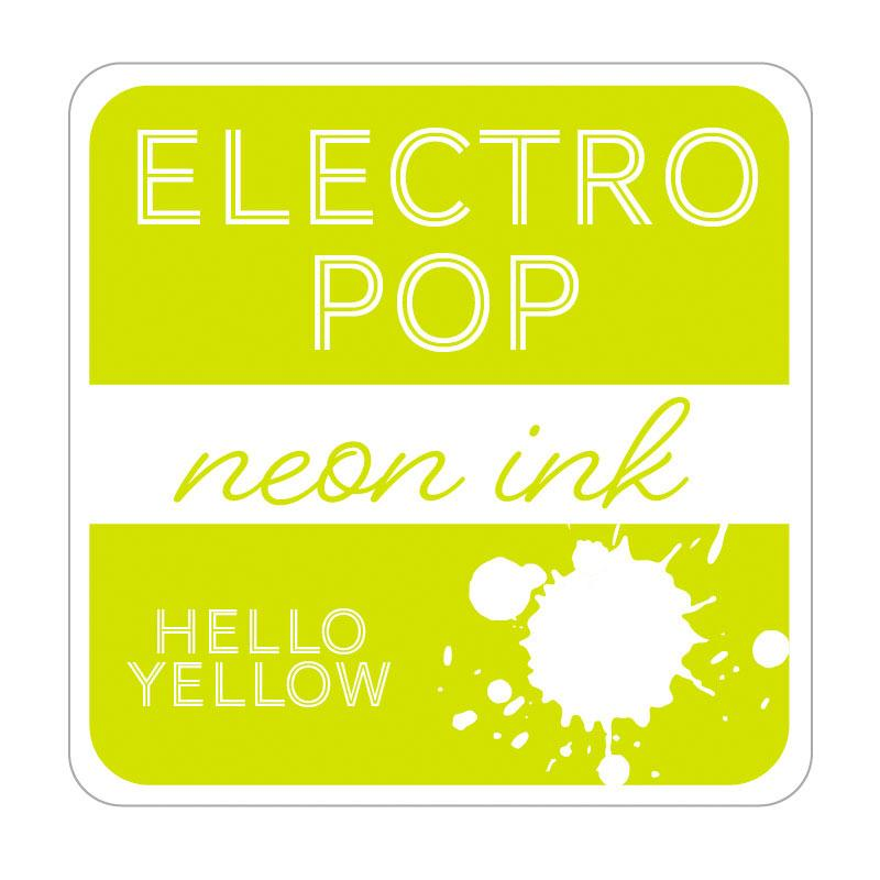 Therm O Web Rina K. Designs Electro Pop Inks, Hello Yellow RKEP3