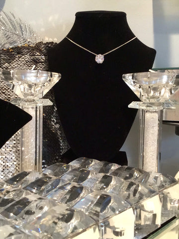 "Dawn Diamond Girl Necklace - The ""Dawn Shrel Elegance"" Collection by VBA Boutique"