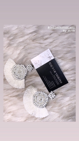 Evani Blanc Earrings