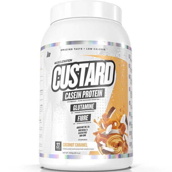 MUSCLE NATION Casein Custard