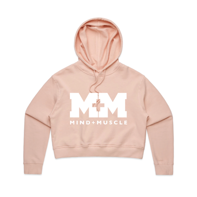 M&M FITNESS Women's AS Colour Crop Hoodie