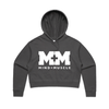 M&M FITNESS Women's AS Colour Crop Hoodie - NEW COLOURWAYS!!!