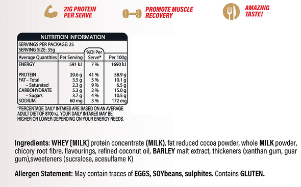 MARS Whey Protein + FREE MARS PROTEIN BAR!!! (New & Improved Formula)