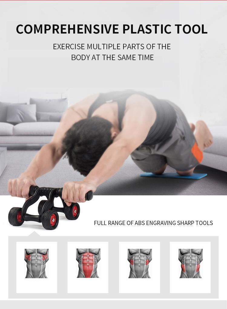 Healthy Abdominal Wheel Home Fitness Equipment